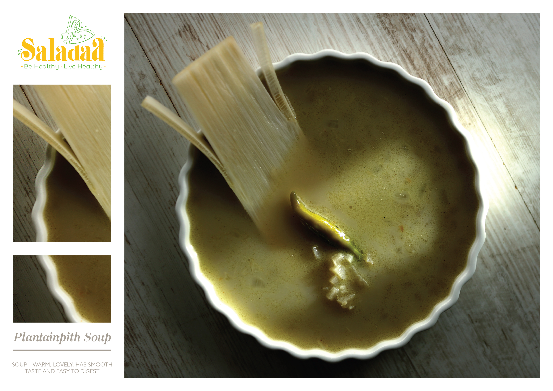 Plantainpith Soup